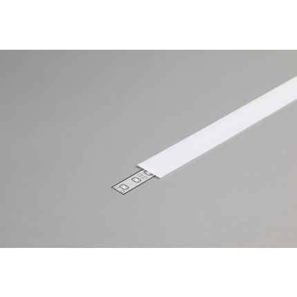 Diffuser Type B For LED Profiles, Slide, Milky, 2000mm