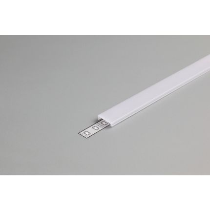 Diffuser Type C For LED Profiles, Click, Milky, 2000mm