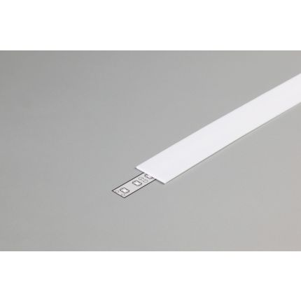 Diffuser Type E For LED Profiles, Slide, Milky, 2000mm