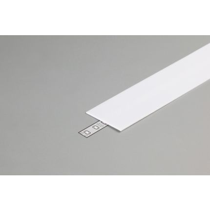 Diffuser Type H For LED Profiles, Slide, Milky, 2000mm