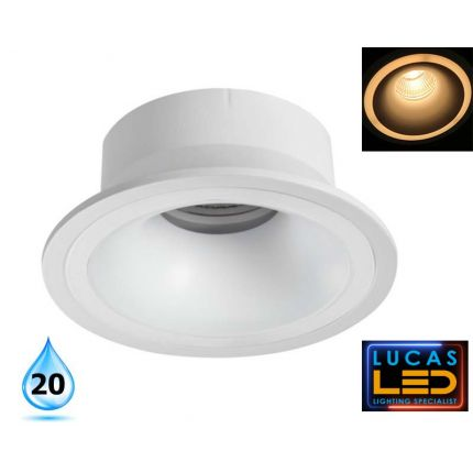 Recessed LED Downlight - Spotlight - ceiling fitting - Gu10 bulb - IMINES Round