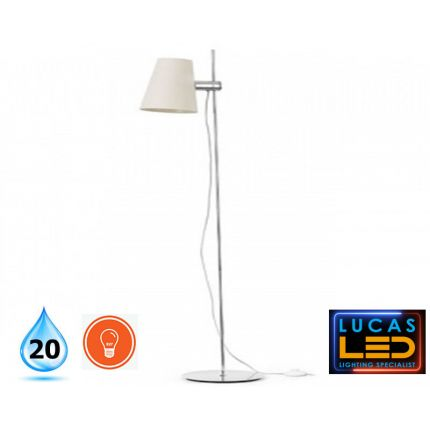 LED standing floor light- E27- Modern switched Faro Barcelona - LUPE  lamp