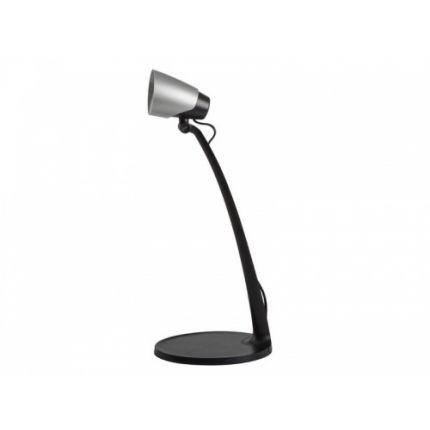 LED Desk Lamp - 5W - IP20 - 3000K - 270lm - SARI Black&Silver colour