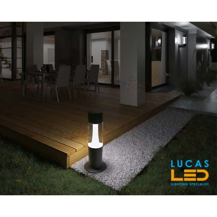Outdoor LED Garden lighting- Architectural - 3x Gu10- IP54- 470mm- INVO- floor standing lamp for Pathway , Driveway