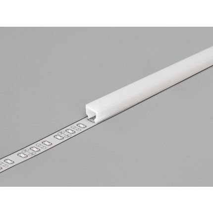 Diffuser Type C1 For LED Profiles, Click, White, 2000mm