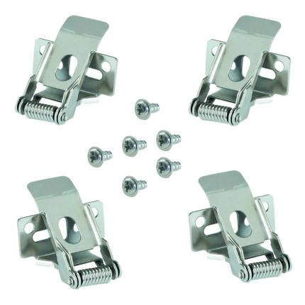 CLIPS BRAVO Standard 600x600mm 4pcs set - Mounting Clips