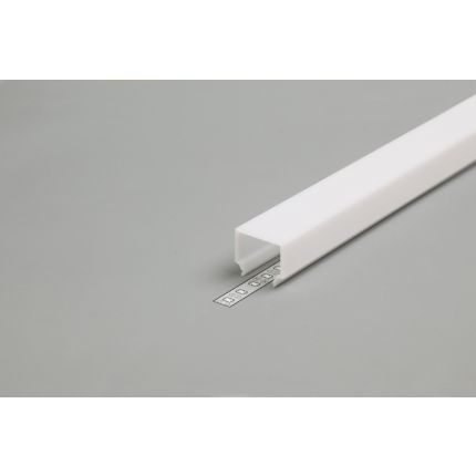 Diffuser Type E7 For LED Profiles, Click, Milky, 2000mm