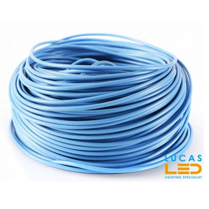 Electric wire LGY blue - for infrared heating film - price per 1m