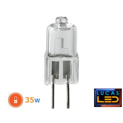 Bulb G4 - halogen light source - 35W - 600lm - 2700K - 12V - AC/DC