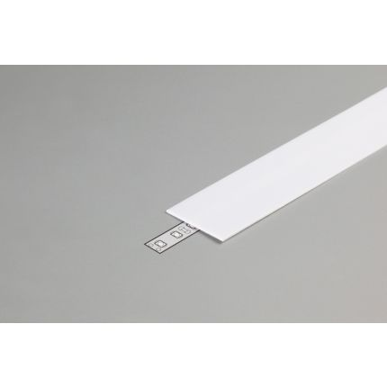 Diffuser Type G For LED Profiles, Slider, Milky 2000mm