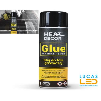 GLUE for Infrared Heating mats & other materials