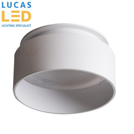 GOVIK LED White - GU10 max 10W - IP20 - Decorative LED Surface Spotlight / Downlight Fitting Point