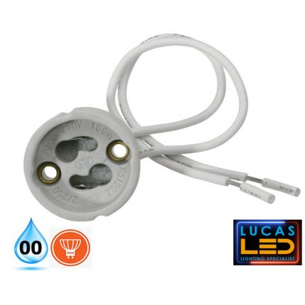 Ceramic lamp holder GU10 / GZ10 for LED bulb light