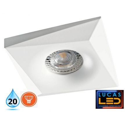 LED Spotlight - recessed light - GU10 - IP20 - BONIS White