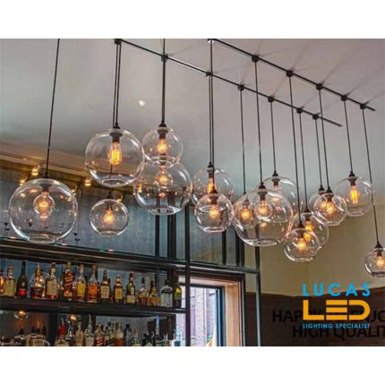 ST64 LED Vintage bulb Filament Light- 7W - E27 - viewing angle 320 ° - 2500K- Warm White - New Xled Light Source