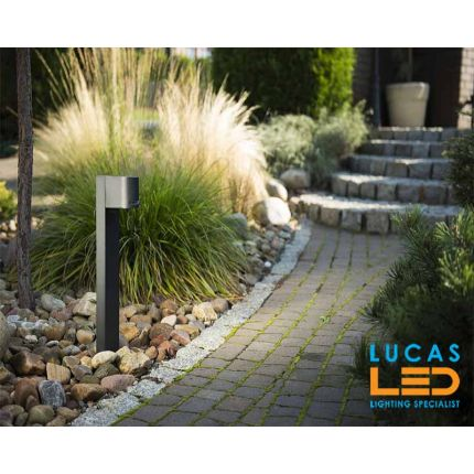 Outdoor LED Garden Light - Driveway - GU10 - IP44 - Black - Modern post lamp NOVIA 500mm
