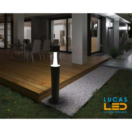 Outdoor LED Garden lighting- Architectural - 3x Gu10- IP54- 770mm- INVO- floor standing lamp for Pathway , Driveway