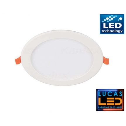 LED downlight panel  , recessed light - 24W - IP20 - 1900lm - Warm White - MILO LED spotlight