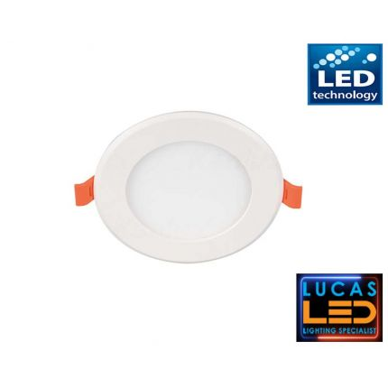 LED downlight panel , recessed light - 6W - IP20 - 370lm - Warm White - MILO LED spotlight