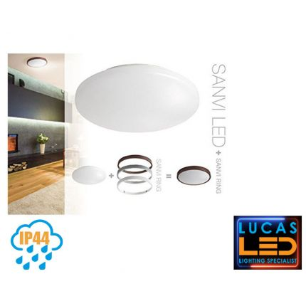 21W LED Panel- IP44 - 1800lm - 3000K - Warm White -LED Downlight  Indoor / Outdoor Spotlight