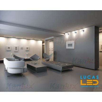 Surface LED Ceiling Light- G9- IP20- Crystal Decorative Home Lamp- GLASO L4