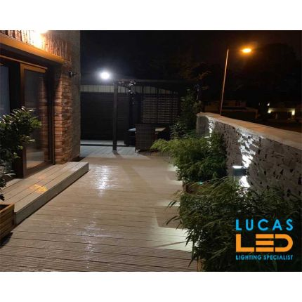 Surface LED Facade Fitting Light- 7W- IP54- 4000K- 380lm- Graphite- Indoor & Outdoor- Up&Down- REKA cube sha