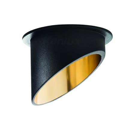 SPAG C Black&Gold  –  Modern LED Downlight / Decorative Indoor Spotlight