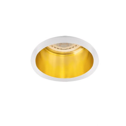 SPAG D - IP20 - GU10 - White/Gold – Modern Surface LED Spotlight