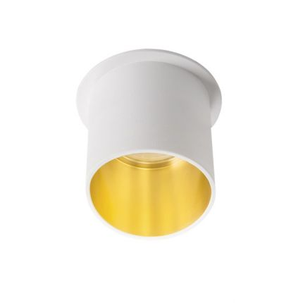 SPAG L - IP20 - GU10 - White/Gold – Modern Surface LED Spotlight