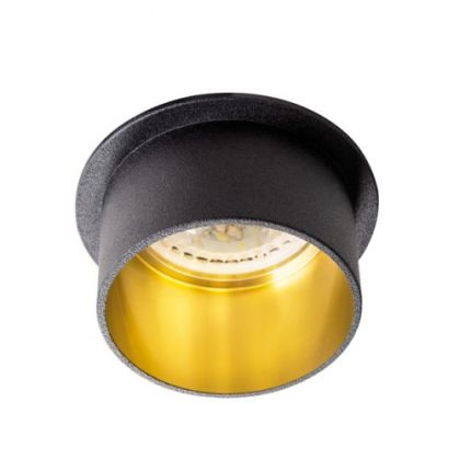 SPAG S -  Black/Gold - IP20 – Modern Surface LED Spotlight