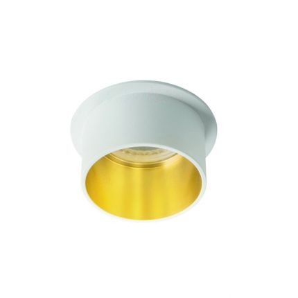 SPAG S - IP20 - GU10 - White/Gold –  Modern Surface LED Spotlight