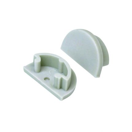 STOPPER *H* - Grey - LED Cap  for led profiles