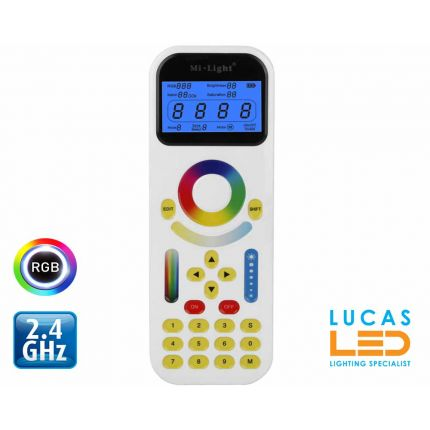 RGB  CCT  Smart Touch Remote control • 99 zones  All-in-1 • 2.4 Ghz  • FUT090 •