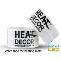 Duct tape for infrared heating