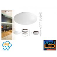 SANVI 21W - IP44 - 1800lm - 3000K - Warm White - Modern LED Downlight / Decorative Indoor / Outdoor Spotlight