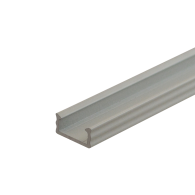 WHITE LED Surface Profile Fose01 for LED strips, 2 meter , Click&Go ,full SET shade & end caps & handle