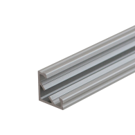 ANODISED LED Corner Profile Fose03 for LED strips , 2 meter , Click&Go ,SET end caps & cover