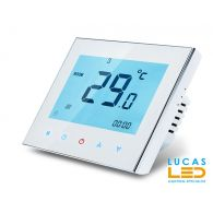 Touch screen programmable room thermostat BHT1000/W - for infrared heating film