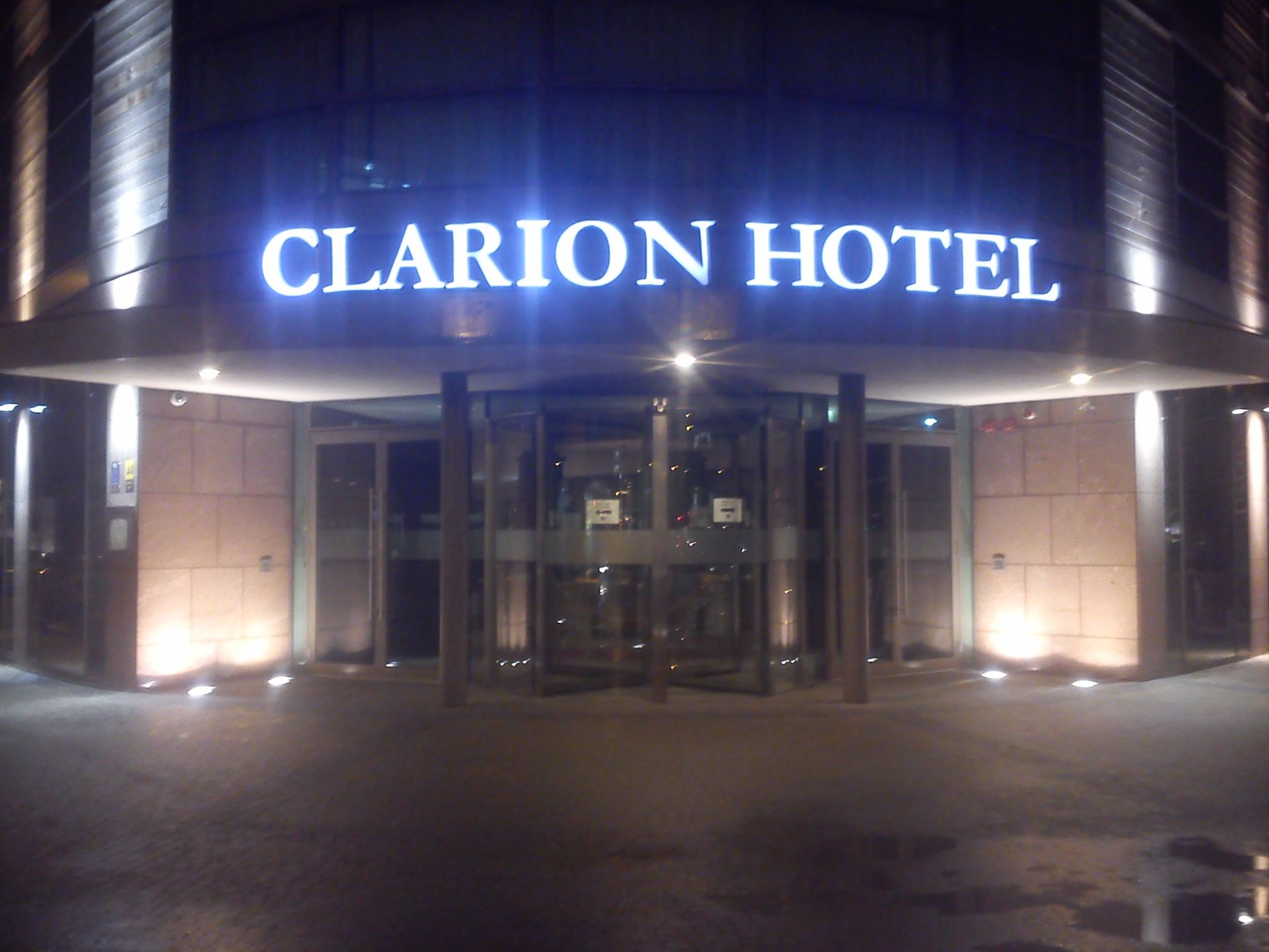 Hotel Clarion Sign , Cork City
