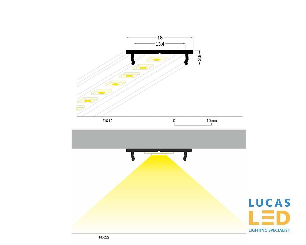 LED  Profile FIX Radiator