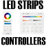 LED Strips Controller-remote-panel-wifi-amplifier-