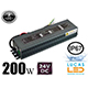 LED DRIVER 24V WATERPROOF 200 watts