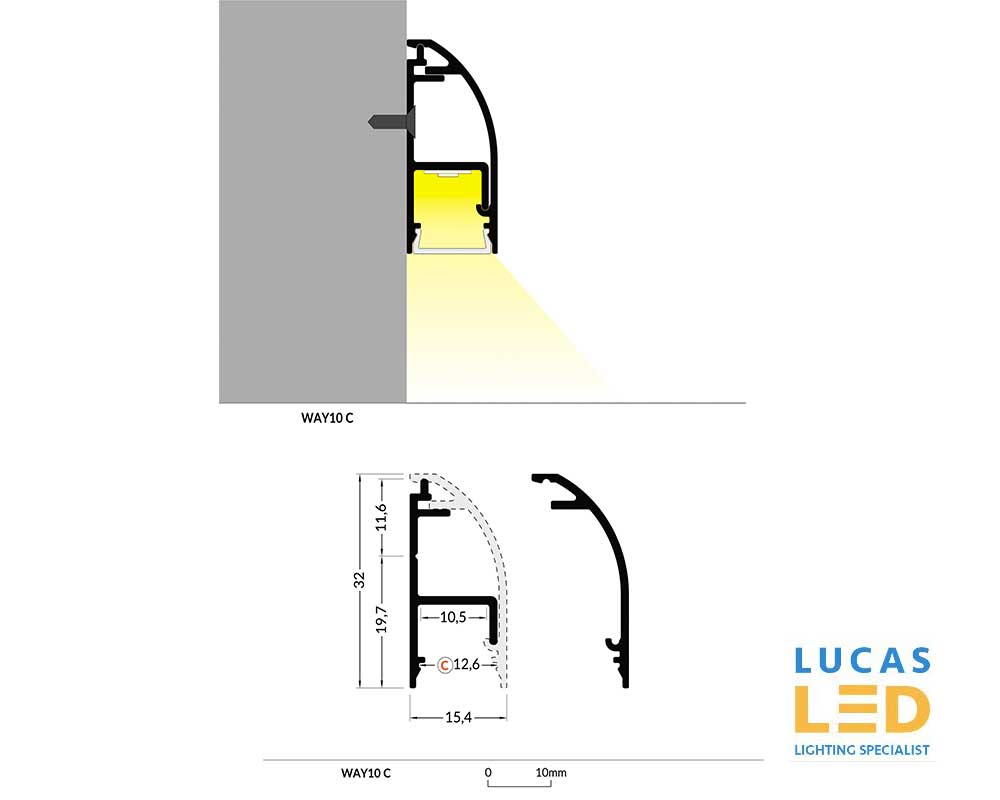 led profile WAY10 Spec.